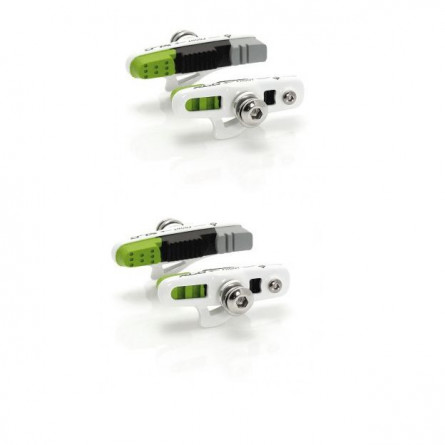 s/'adapte à la route et de montagne 44 mm paire Muc-Off Tubeless Valve Kit: bleu