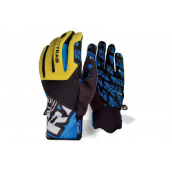 Skiab gants Evo Plus blue / yellow