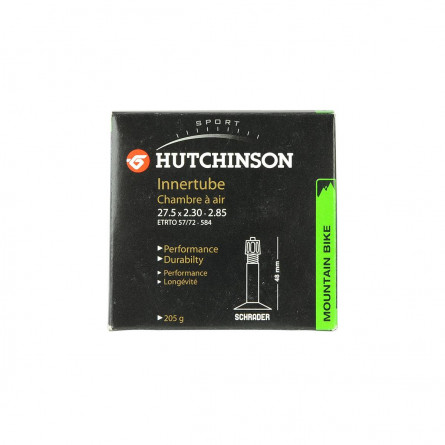 Hutchinson chambre 27.5 x 2.3-2.85 AV Schrader