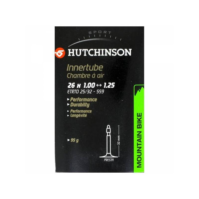 Hutchinson chambre 26 x 1.00-1.25 VS Schrader