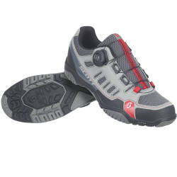 Chaussures Scott Crus-R Boa Lady grey / red