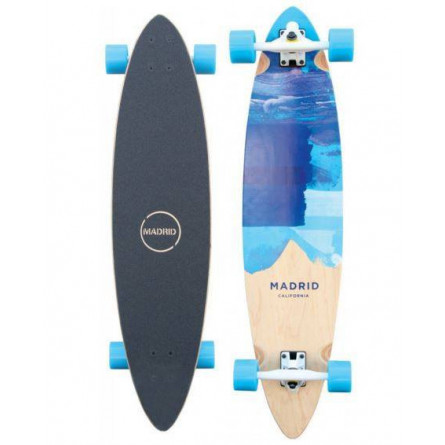 "Madrid Skateboards Blunt 38"" blues"