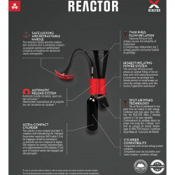 Arva Reactor 18 Black Red reactor