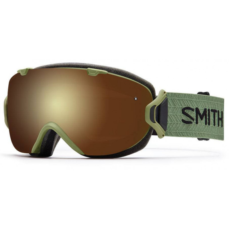 Smith I/OS Olive gold sol-x miror