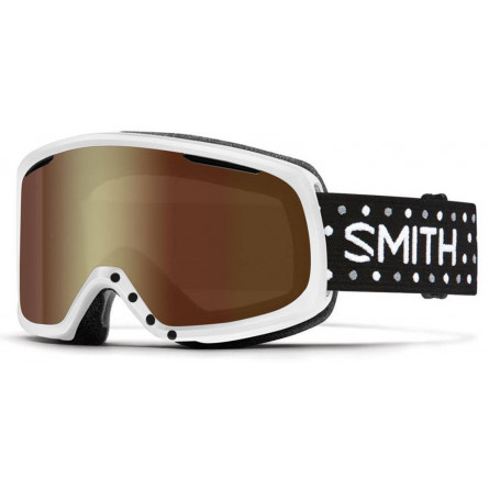 Smith Riot White Dots gold sol-x mirror