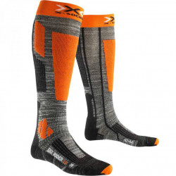 X Socks Ski Rider 2.0 gris / orange