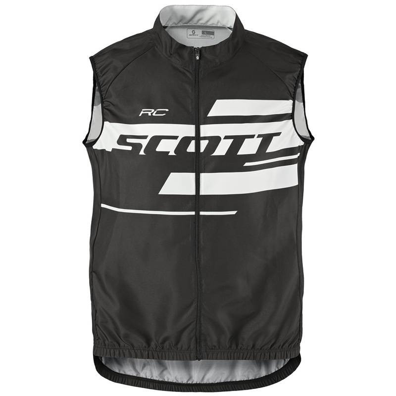 Gilet Scott RC Team 10 WB black/white