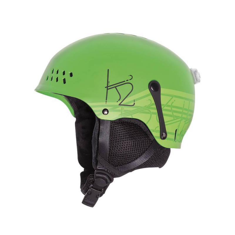 casque ski junio K2 Entity black