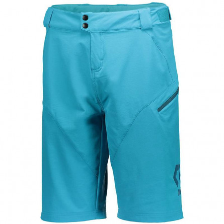 Scott Short Trail 10 ls / fit w pad sea blue/blue coral