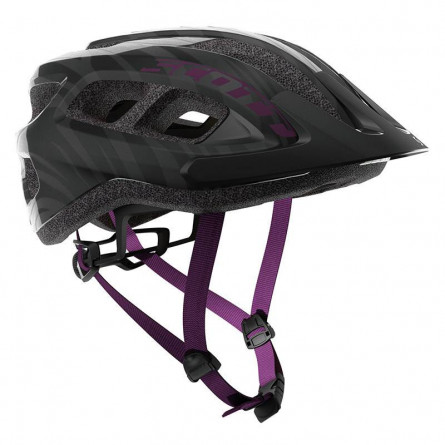 Casque Scott Supra Black/Violet