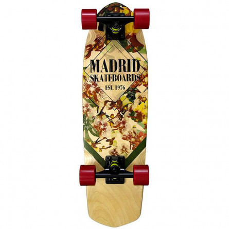 "Madrid Skateboard Picket 28"" Orchid Mini"
