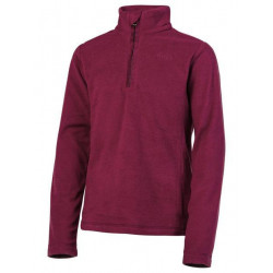 Polaire Protest Mutey 1/4 Zip beet red enfant