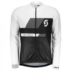 Maillot SCOTT RC Team 10 s/sl White/Black
