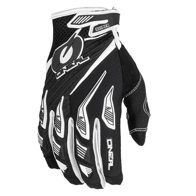 Oneal Sniper Elite Glove Black White