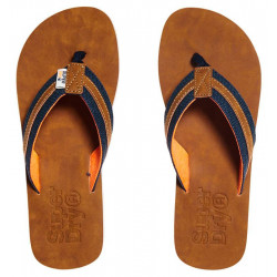 Tongs Superdry Roller Dark Navy/Tan