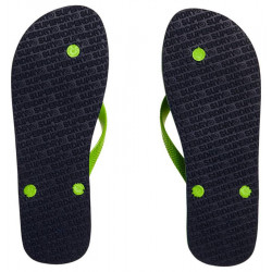 Tongs Superdry Sleek Dark Navy/Fluro Lime
