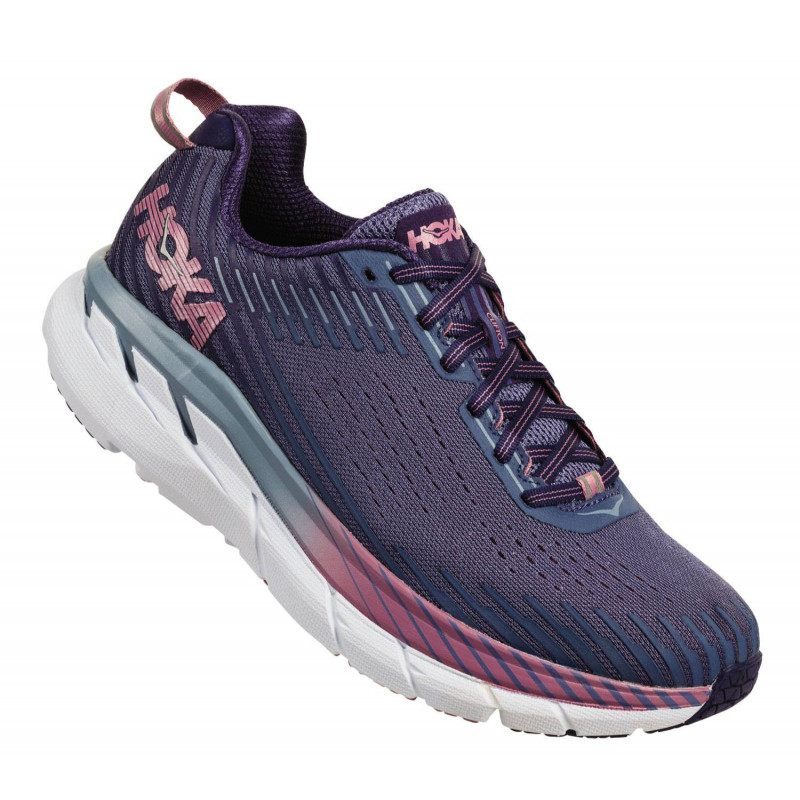 Hoka Clifton 5 femme marlin / blue ribbon