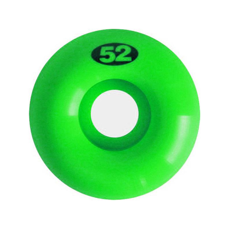 Naked Wheels jeu de 4 neon green
