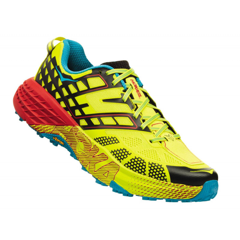 Hoka Speedgoat 2 black / evening primrose