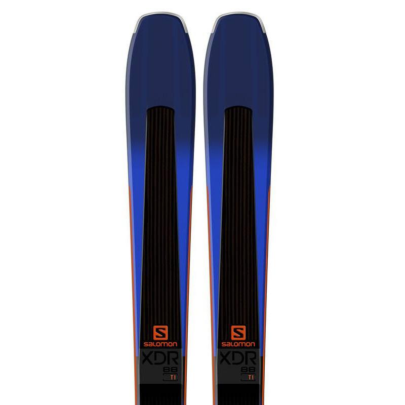 Skis Salomon XDR 88 Ti + Warden MNC 13