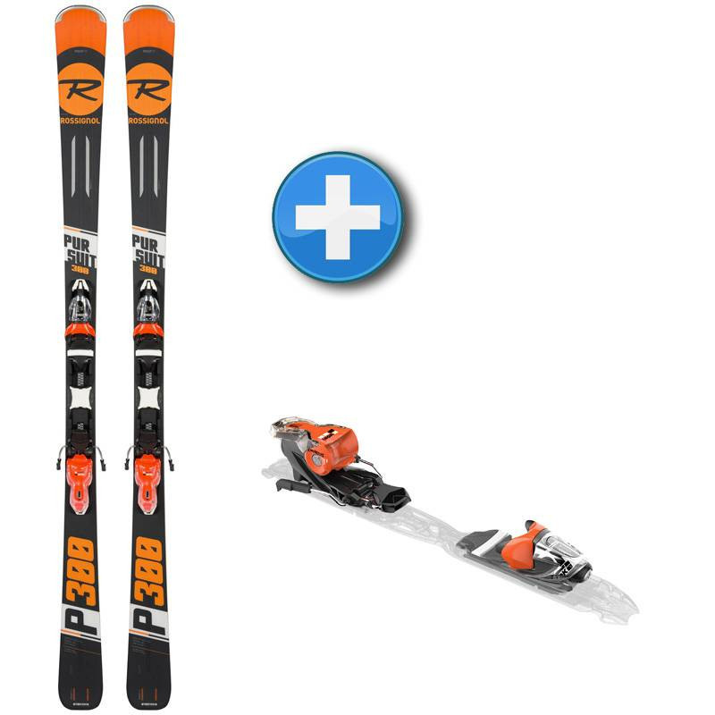 Pack skis Rossignol Pursuit 300 + fixations Look Xpress 10 B83