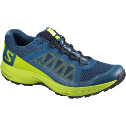 Salomon XA Elevate poseidon / lime green / black