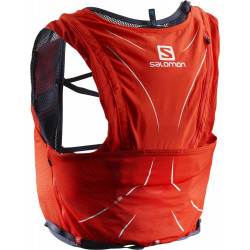 Sac à dos Salomon Advanced Skin 12 Set fiery red / graphite