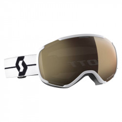 Masque Scott Faze II White LS Bronze Chrome