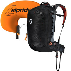 Scott Backcountry Guide AP 30 kit Black / Burnt Orange
