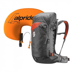Scott Backcountry Guide AP 40 Kit Dark Grey / Burnt Orange