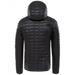The North Face Thermoball Hoody asphalt grey / fusebox grey process print
