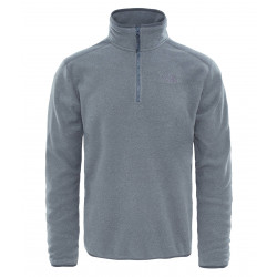 The North Face 100 Glacier 1/4 Zip medium grey