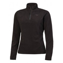 Protest Mutey 1/4 zip femme true black
