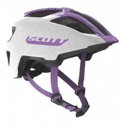 Casque Scott Spunto white purple