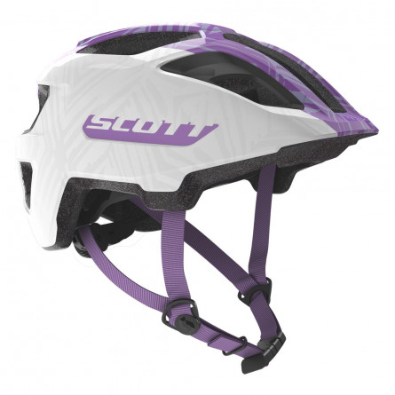Casque Scott Spunto white purple
