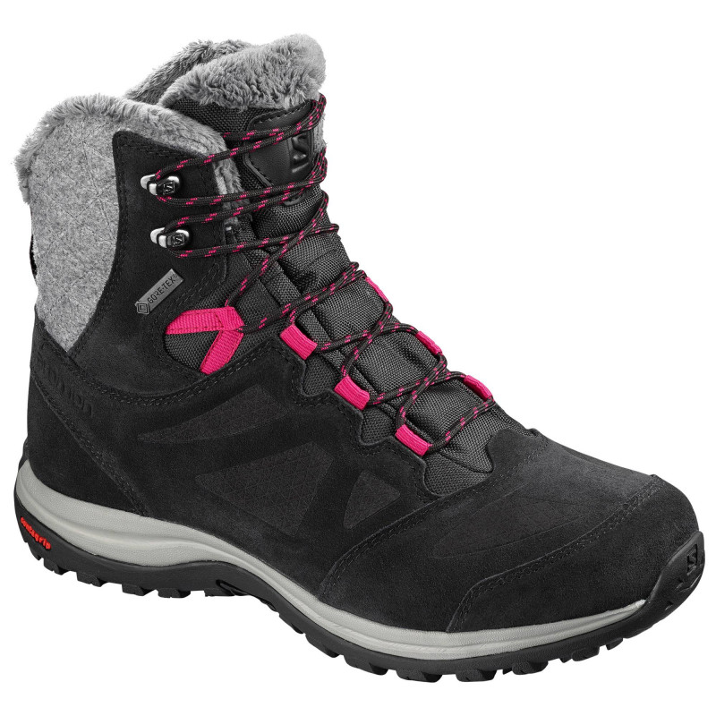 Salomon Ellipse Winter GTX femme black / phantom / cerise