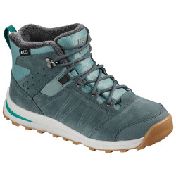 Salomon Utility TS CSWP junior trellis / stormy weather / tropical green
