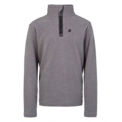 Protest Perfecty JR 1/4 Zip dark grey enfant
