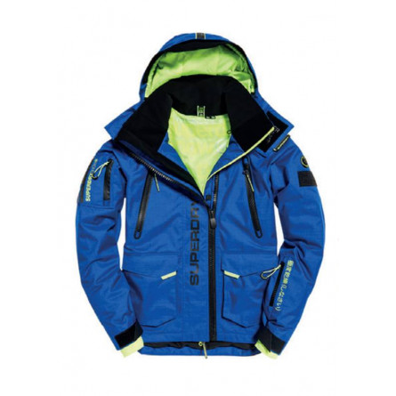 plus récent 7907b c4b8c Veste Superdry ultimate snow rescue cobalt