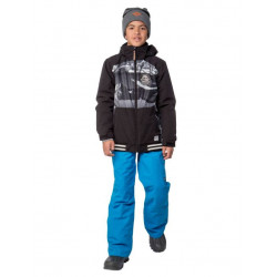 Protest Nissan JR jacket true black enfant