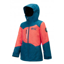 Veste Picture Leeloo petrol blue enfant