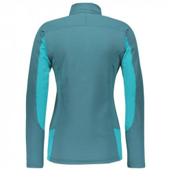 Pullover Scott Defined Light femme dragonfly green/sky blue