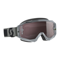 Scott Hustle MX Grey Silver...