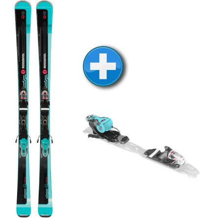 Skis Rossignol Famous 2 + Look Xpress W 10 B83