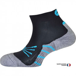 Monnet Trail Perf  grey / blue