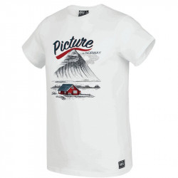 T-shirt Picture norway white