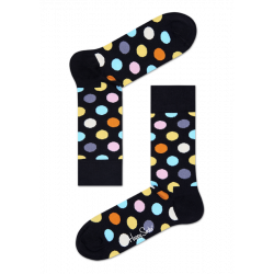 Happy Socks Big Dot Noir,...