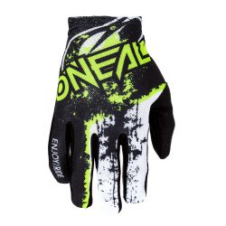 O`NEAL MATRIX GLOVE IMPACT BLACK/NEON YELLOW