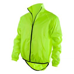 O`NEAL BREEZE RAIN JACKET NEON YELLOW
