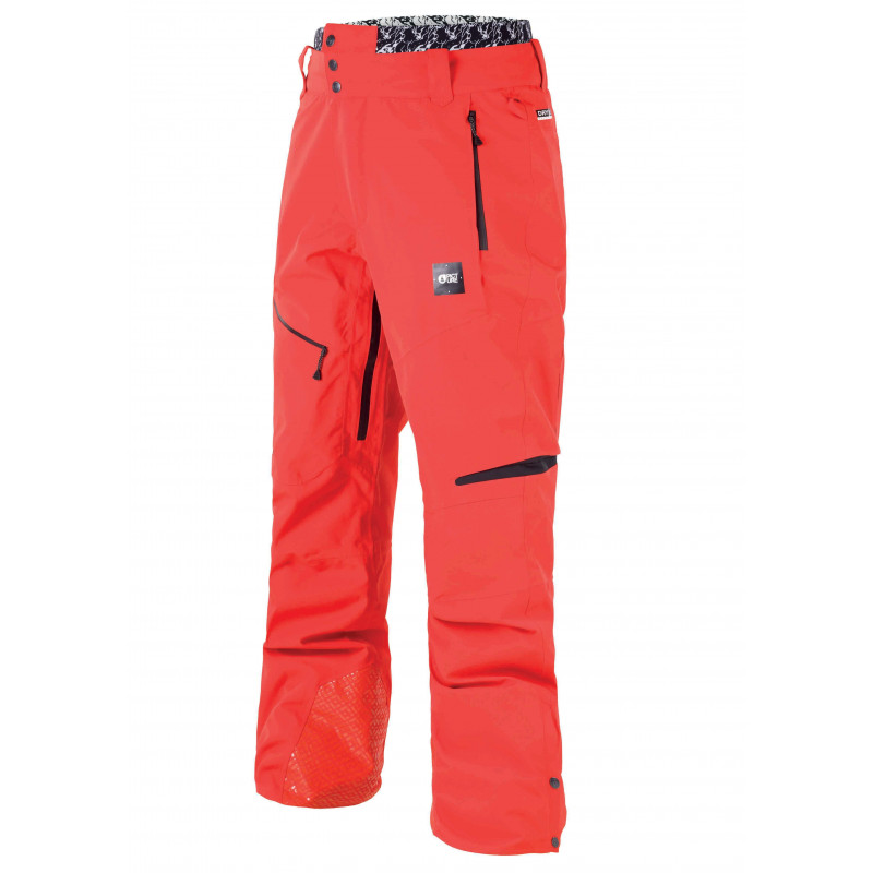 picture pant track red